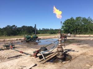 Bledsoe Lindsey 04-05-2017 Flowback Testing